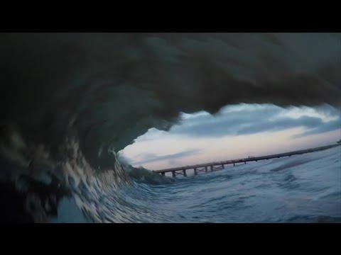 Seal Beach Pov Gopro Waves