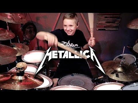 Shoot to thrill ac dc age 7 drum cover by avery dr doovi - Zz top la grange drum cover ...