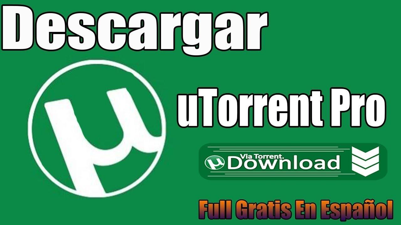 descargar utorrent 2018 gratis