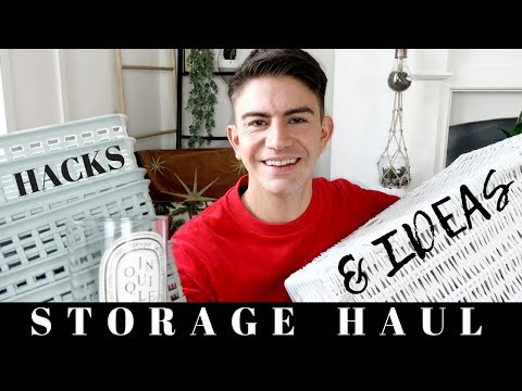 STORAGE HAUL, HACKS AND IDEAS  | POUNDLAND, TIGER, CHARITY SHOP