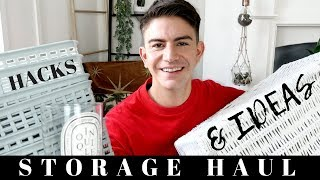 STORAGE HAUL, HACKS AND IDEAS    POUNDLAND, TIGER, CHARITY SHOP
