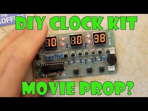 Teardown Lab - Mystery Chinese Clock PCB Kit