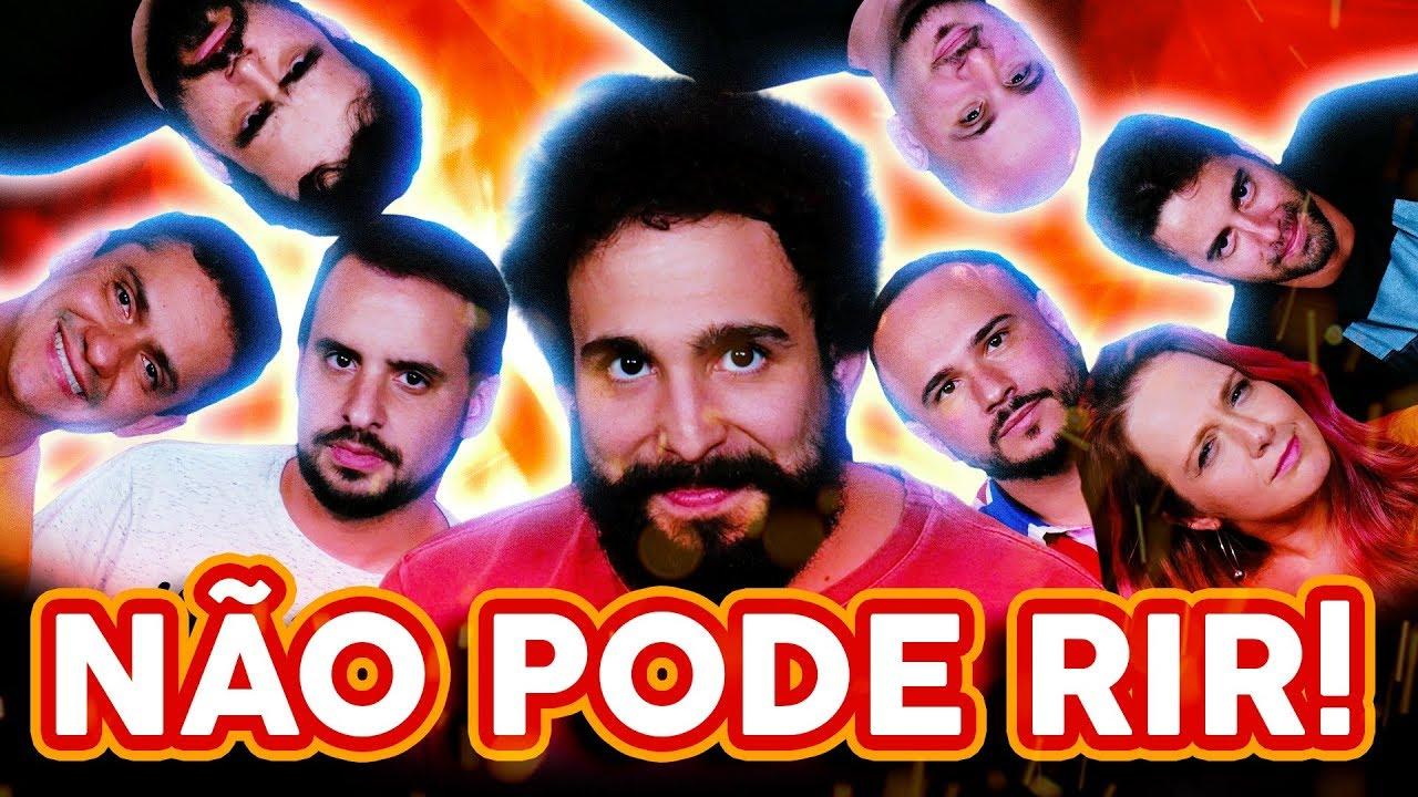 NÃO PODE RIR! TODOS contra Murilo Couto