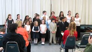 East Bay Homeschool Choir Spring 2013: Just Desserts: Shoo Fly Pie & Apple Pan Dowdy