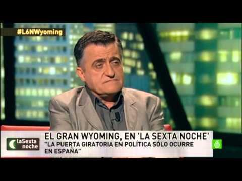Entrevista Wyoming [La Sexta Noche 14/12/13] (audio OK)