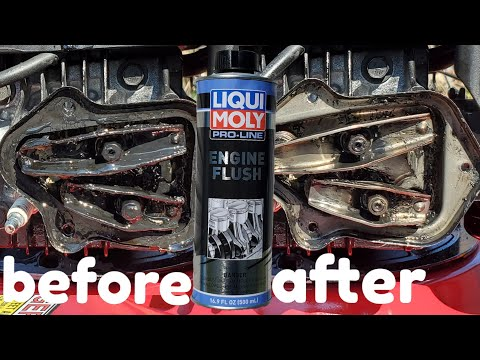 Liqui moly engine flush big mistake or myth?