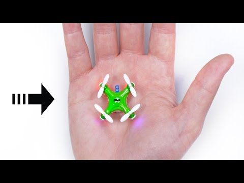 Thumbnail: The World's Smallest Drone!