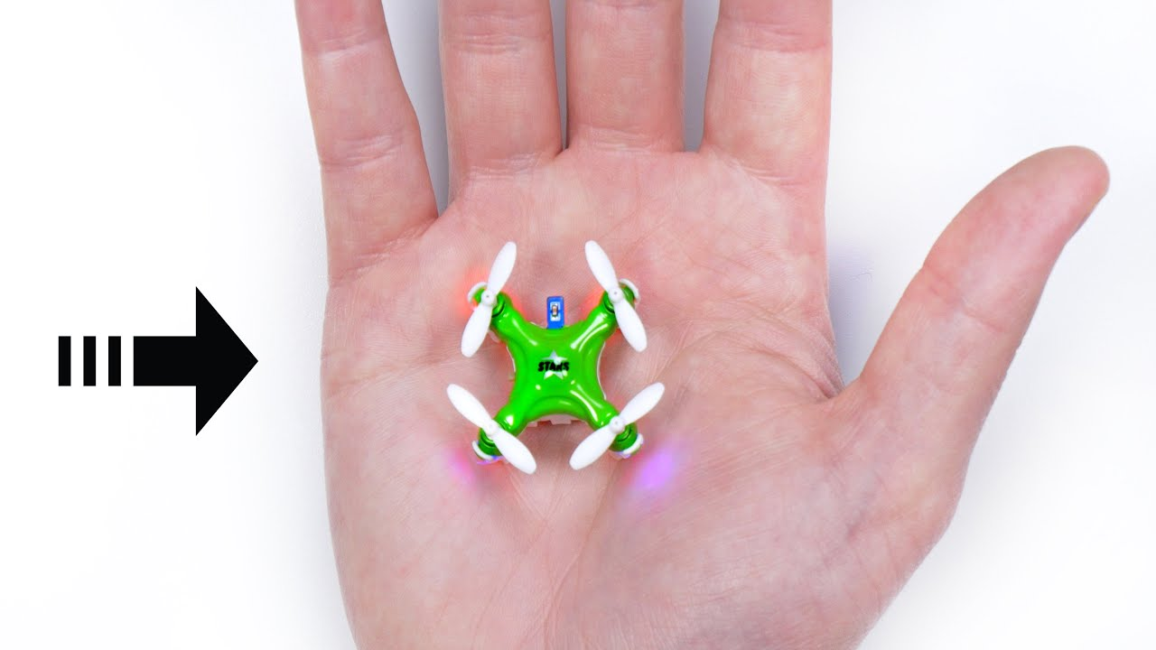 The Worlds Smallest Drone