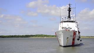 Coast Guard Cutter Dauntless/Homeport April 2017