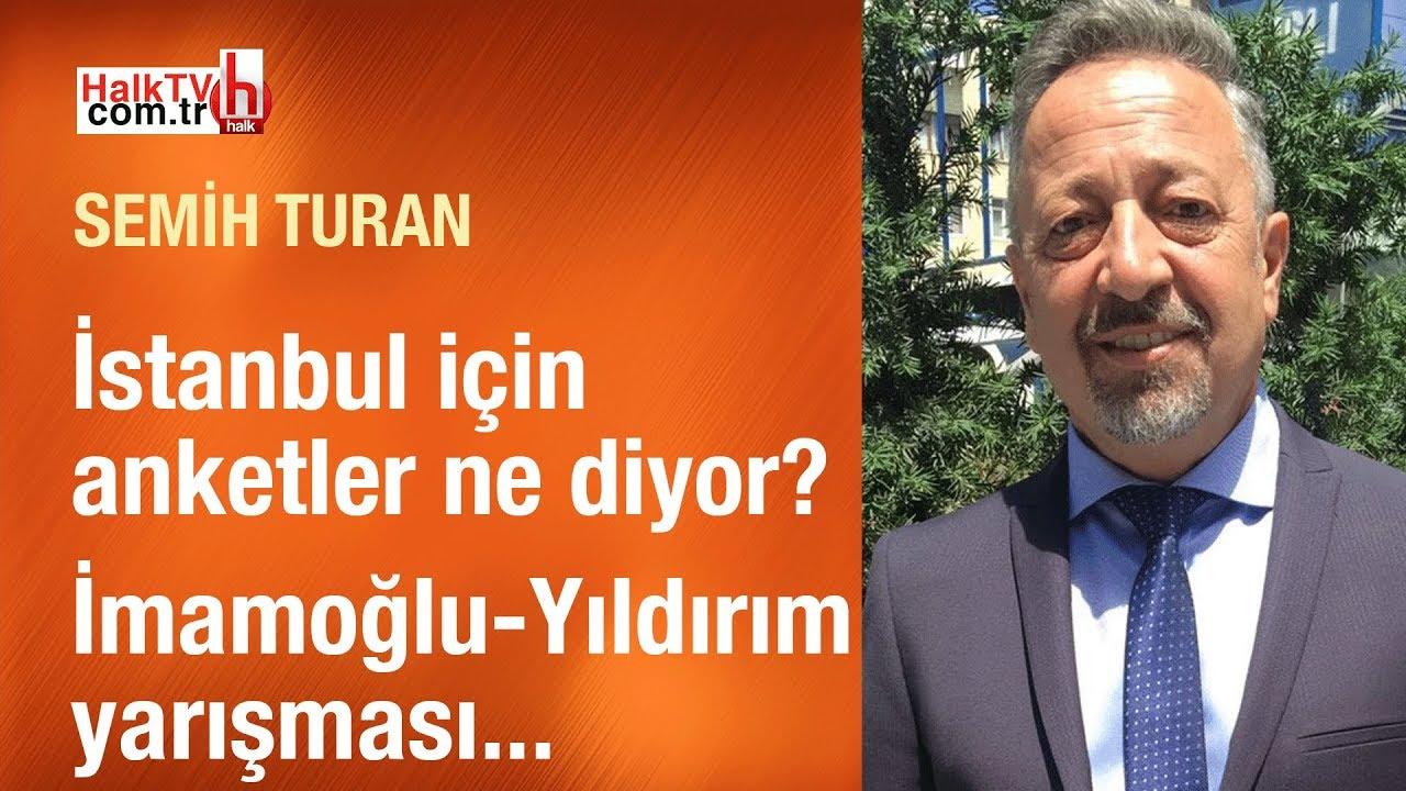 İstanbul için anketler ne diyor? // Bulgu Araştırma YK Başkanı Semih Turan