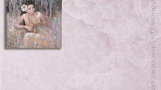 Венецианская штукатурка НЕАПОЛИТАНСКАЯ декоративная фреска Мастер классы VENETIAN PLASTER Урок 4