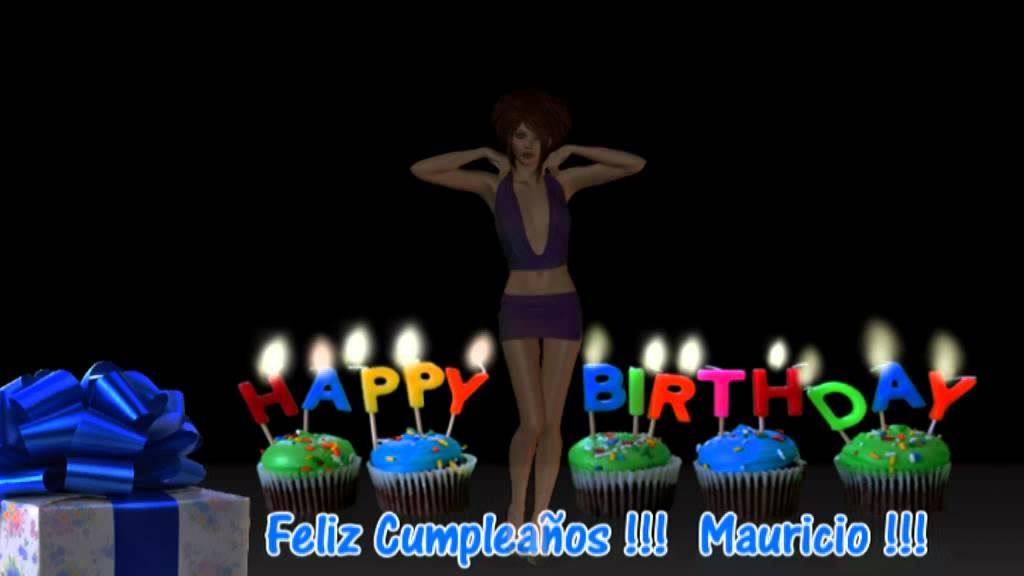 Cumple Anos Bola De Pelos: Feliz Cumpleaños Mauricio