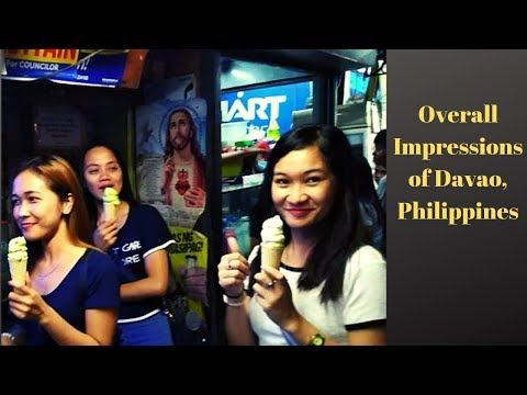 Overall Impressions of Potentially Living in Davao, Philippines
