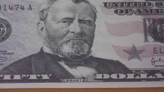 Who was Ulysses S. Grant ? - The 50 US-Dollar banknote