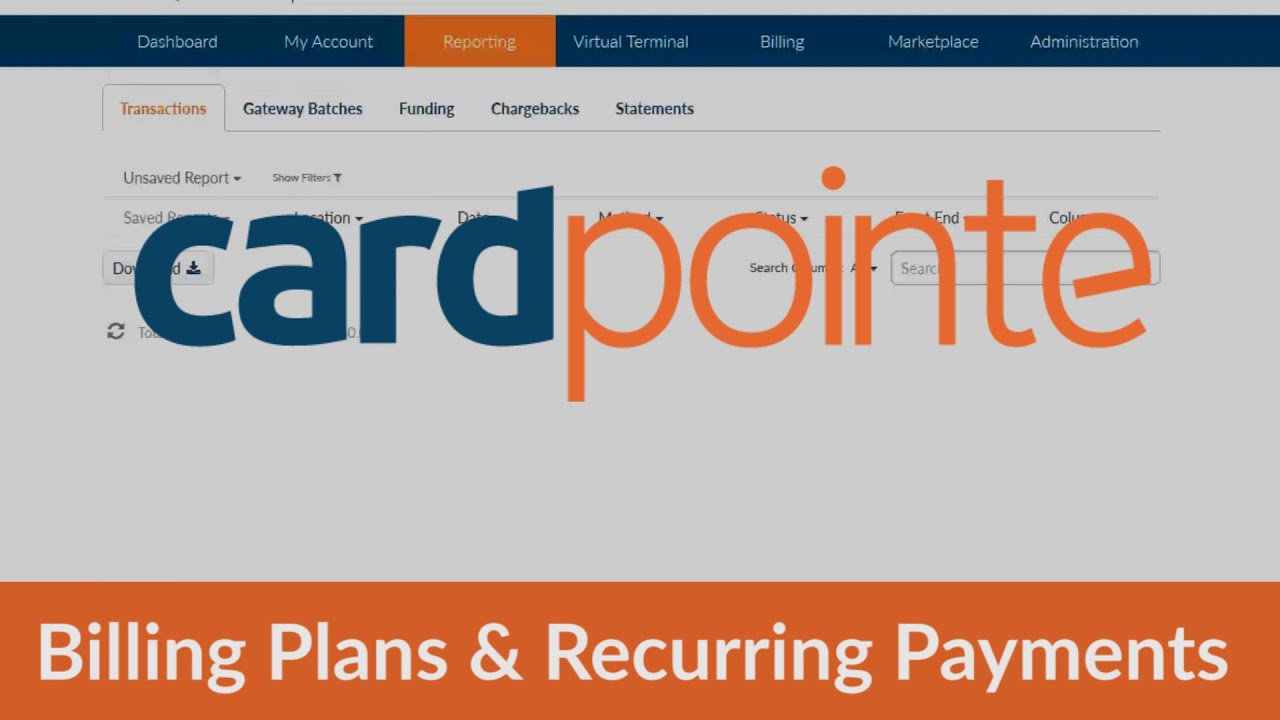 CardPointe How To Create Billing Plans Recurring Payments YouTube - Create your own invoices fire store online