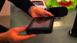 Nyko PlayStation Vita speaker stand and Kindle Fire power case hands-on at CES 2012
