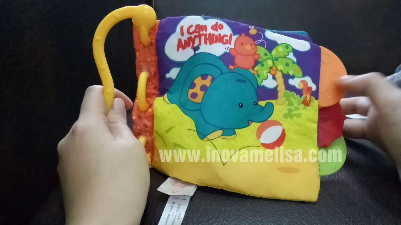 Teether Book Rattle Carter s - Cara Pakai 1d52855d90