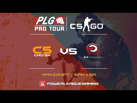 PLG Pro Tour with CS:GO | Round 1 | [JOR] Chosen 5 vs [JOR] Evil Corporation