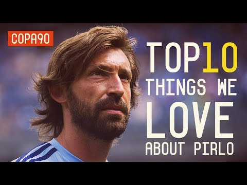 Ten Reasons We Love Andrea Pirlo