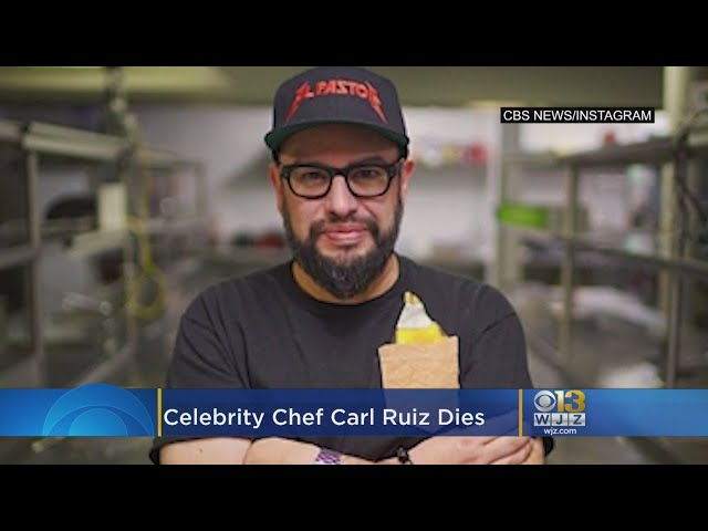 Celebrity Chef Carl Ruiz Dead At 44, Last Tweets Feature Maryland Eateries