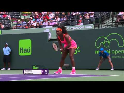 Serena Williams' Best Shots 2015