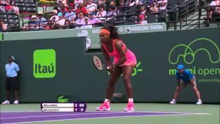 Serena Williams' Best Shots 2015