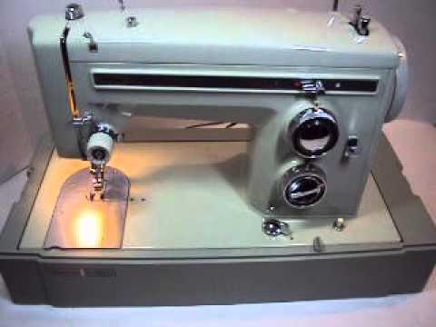 Sears Kenmore Sewing Machine YouTube Amazing Who Makes Kenmore Sewing Machines For Sears