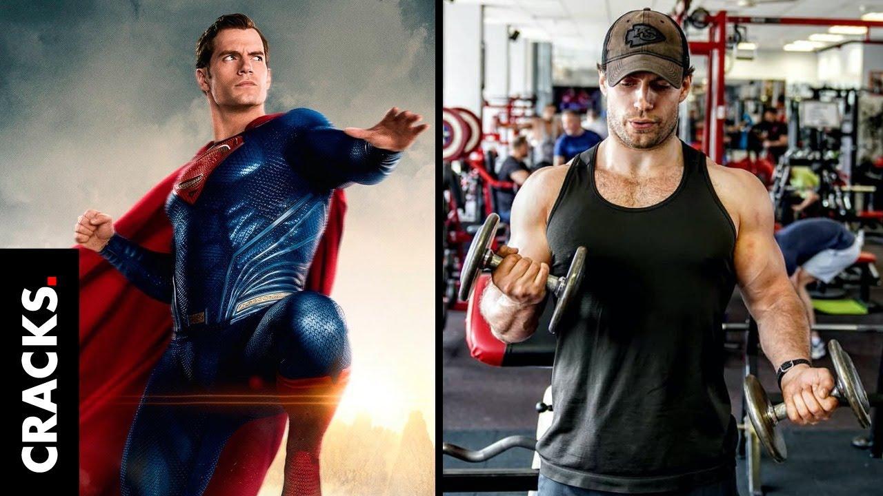 """Con estos simples trucos Henry Cavill quedó de """"otro mundo"""" para """"Superman"""""""