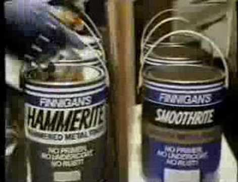 Hammerite 'Any old iron!' - 1991 UK Advert