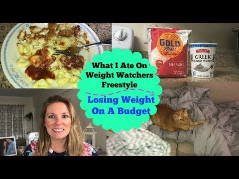 What I Ate On Weight Watchers Freestyle | Taking Care of Husband With The FLU!