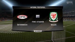 Österreich - Wales [2. Spieltag   WM Qualifikation 2018 - Europa]