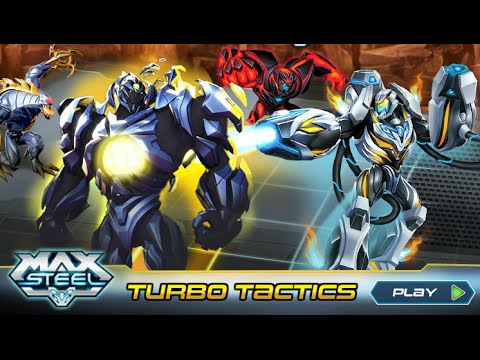 Max Steel Turbo Tactics Part 1 [AWESOME MAX STEEL STRATEGY GAME]
