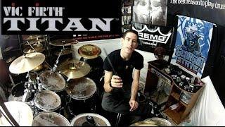 Vic Firth TITAN - Carbon Fiber Drumsticks - Final Review