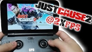 GPD WIN: Just Cause 2