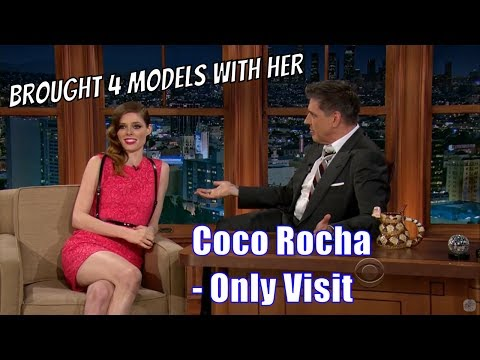 Coco Rocha  She Brought Her Model Friends  Her Only Appearance 1080p
