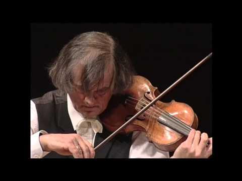 J.S. Bach : Sonata For Violin Solo No.2 BWV 1003 - Sigiswald Kuijken