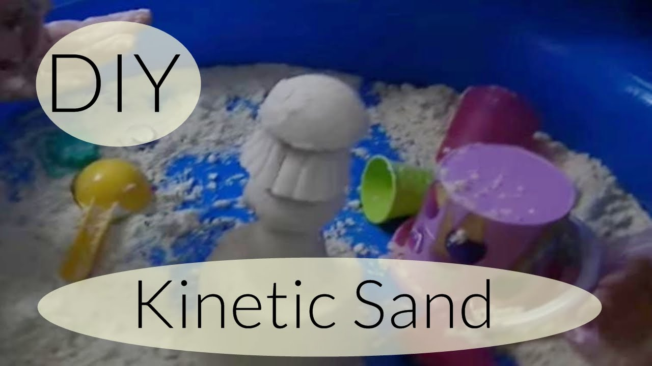 diy moon sand kinetic sand zaubersand selber machen youtube. Black Bedroom Furniture Sets. Home Design Ideas