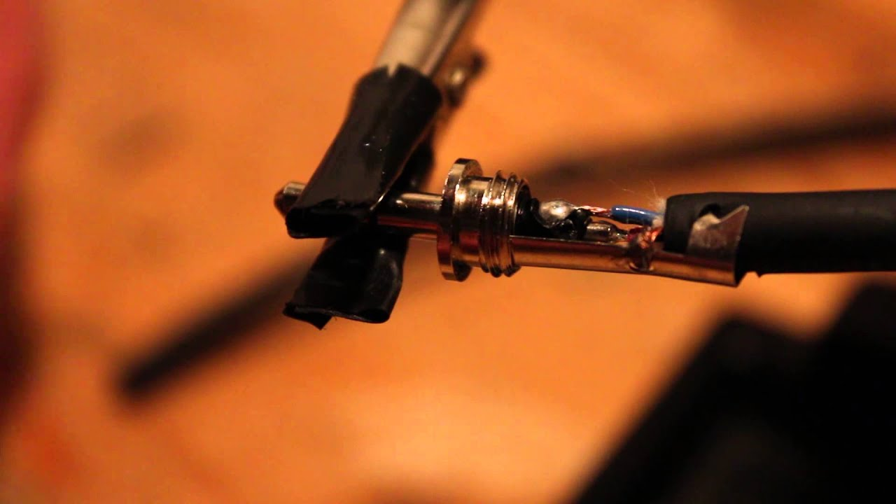 How to Wire a 3.5mm Stereo Audio Plug : Audio Tips - YouTube