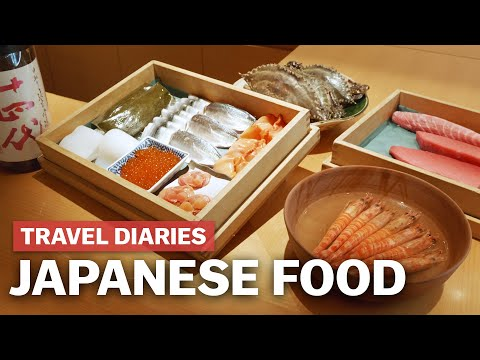 Travel Diaries: Japanese Food Compilation | japan-guide.com