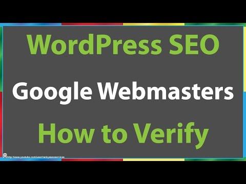 How to Verify a WordPress Site With Google Webmaster Tools