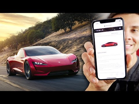Thumbnail: Tesla Roadster Reserved! iPhone X Giveaway & Apple News