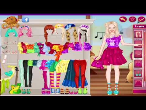 Disney princess games and Barbie Games Barbie Popstar Princess