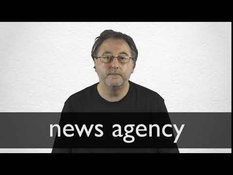 How to pronounce NEWS AGENCY in British English