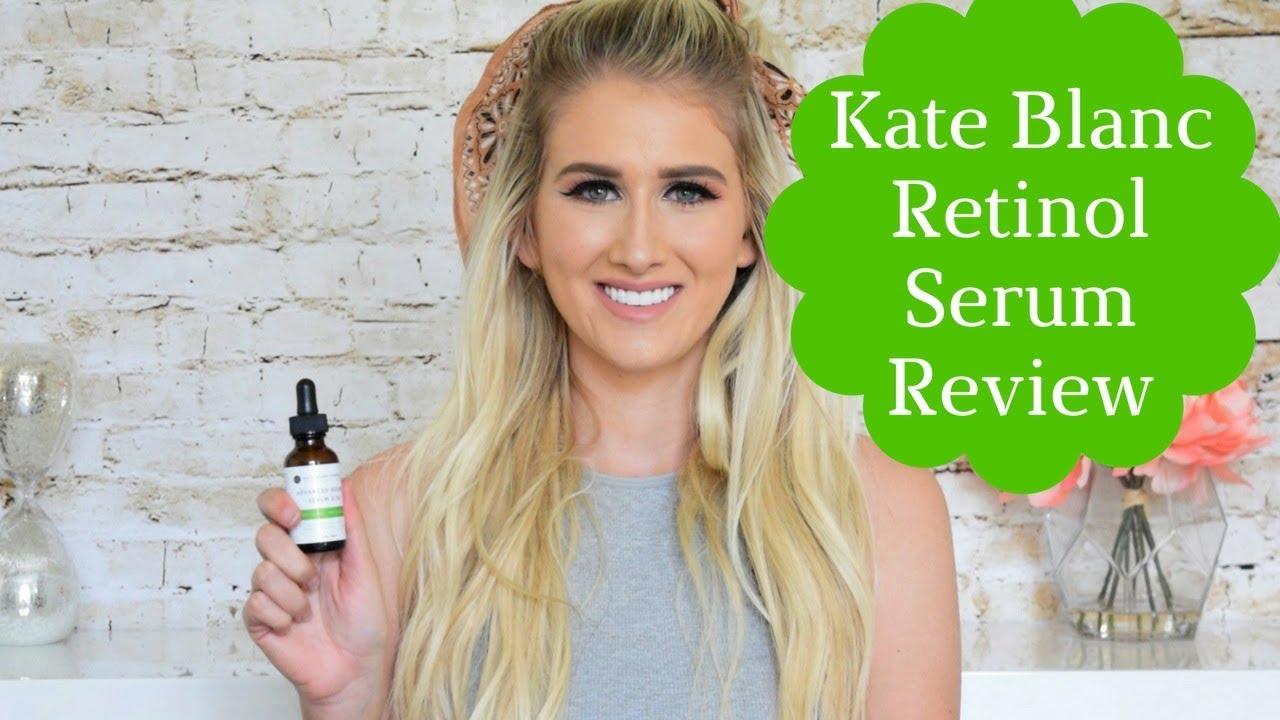 Kate Blanc Cosmetics Advanced Retinol Serum Review Youtube