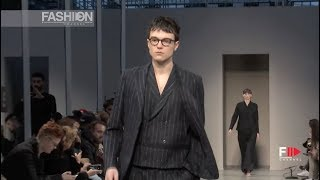 SARTORIAL MONK Fall 2018 2019 Menswear Milan - Fashion Channel