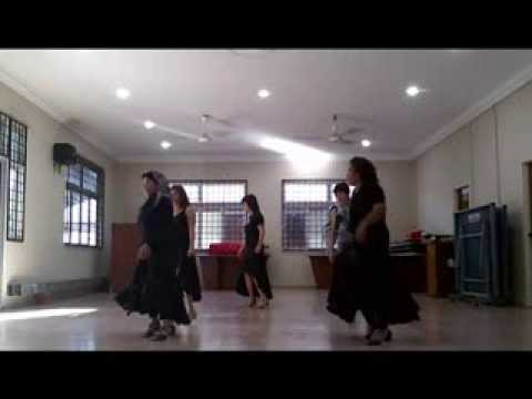 Hanya Aku Line Dance ( Only me ) (d'manja Line Dancing) Travel Video