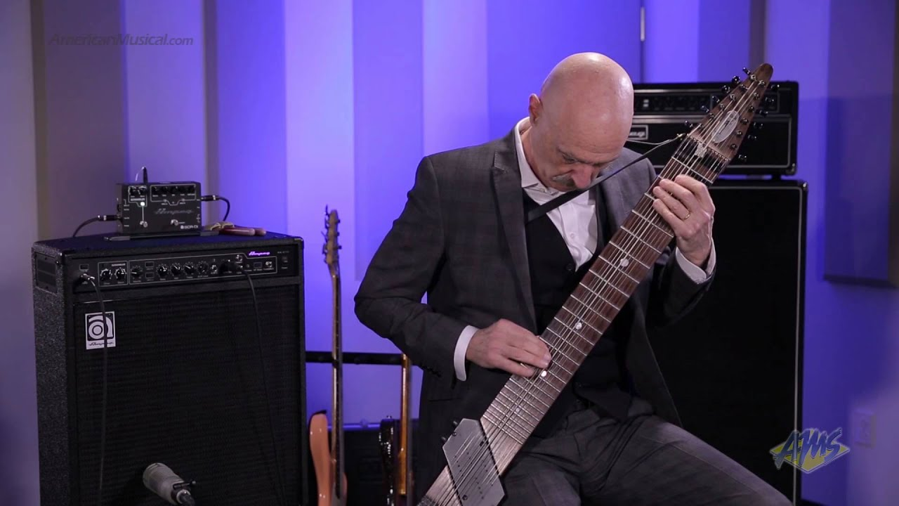 AMS Exclusive Tony Levin Bass Performance - Chapman Stick ...
