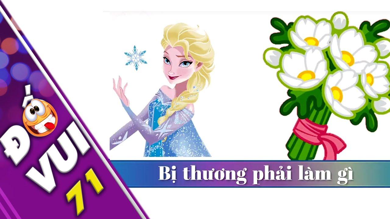 Game nhìn hình đoán chữ thử tài thông minh #22 - Đố Vui Cho Bé
