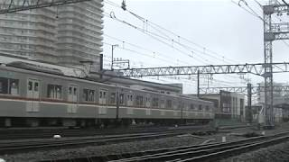 西武鉄道40000系準急池袋行と東京メトロ7000系入れ換え 小手指