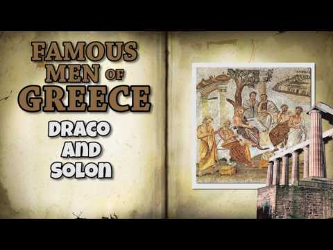 Famous Men of Greece   Draco and Solon